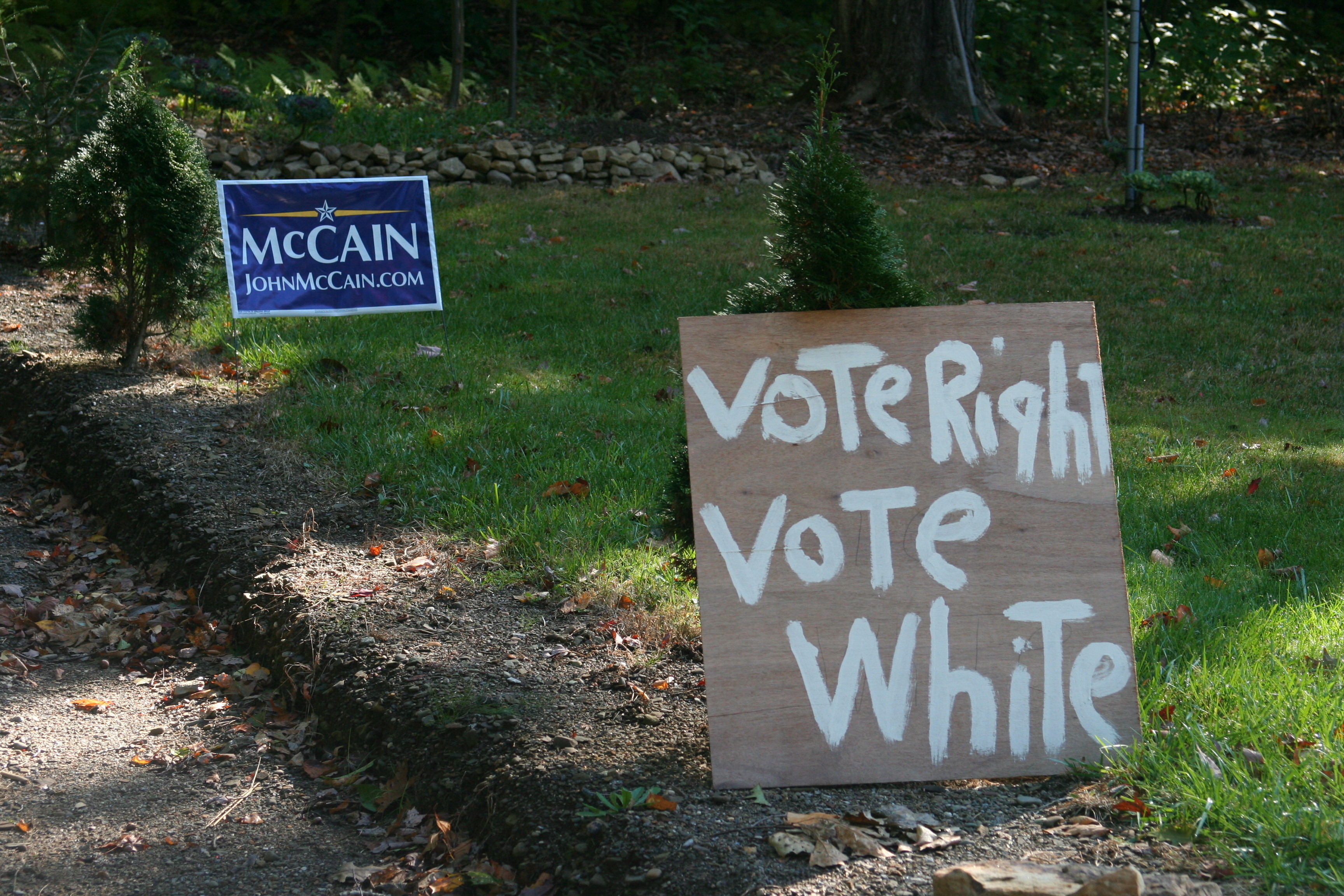 Mccain Supporters Reveal Racism