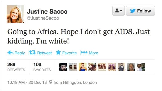 JustineSacco_Tweet