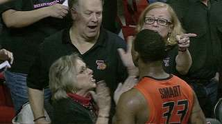 Marcus Smart Confrontation with Fan