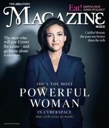Sandberg Magazine Cover