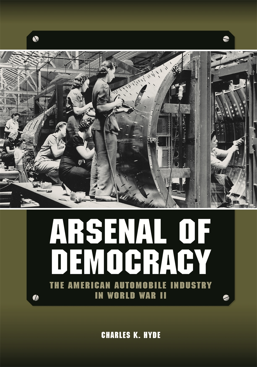 Arsenal of Democracy Book Cover