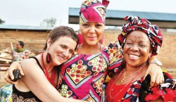 Eve Ensler in Congo