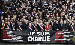 Je Suis Charlie protest in France