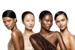 Women of Color in fashion ad