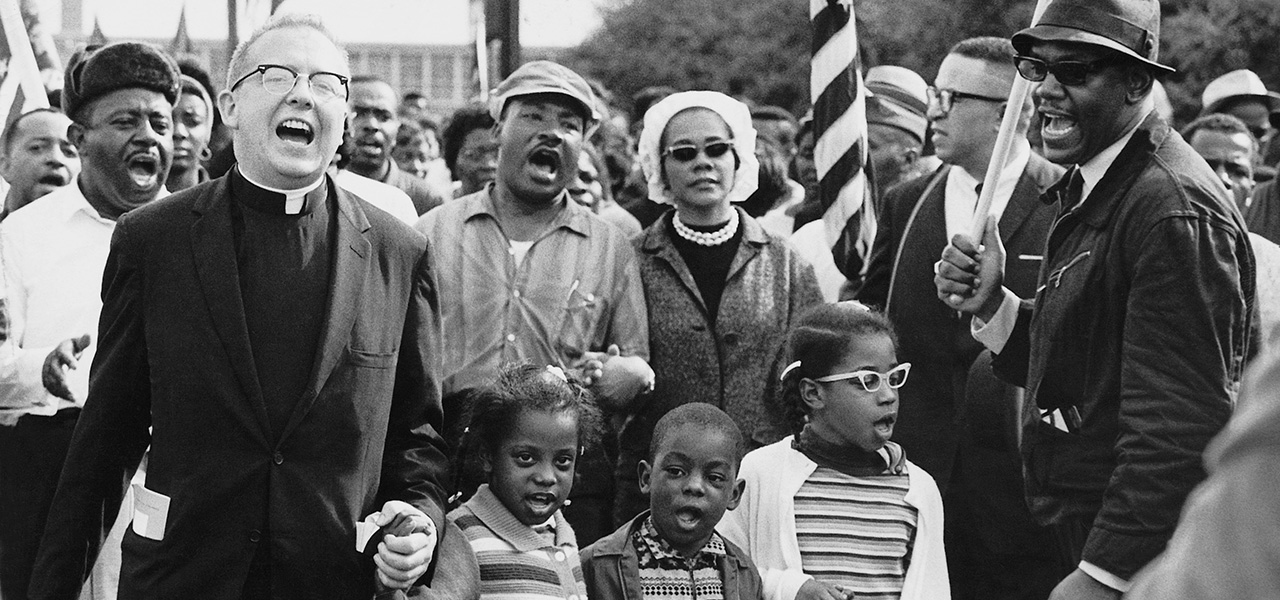 Marchers in Selma, 1965