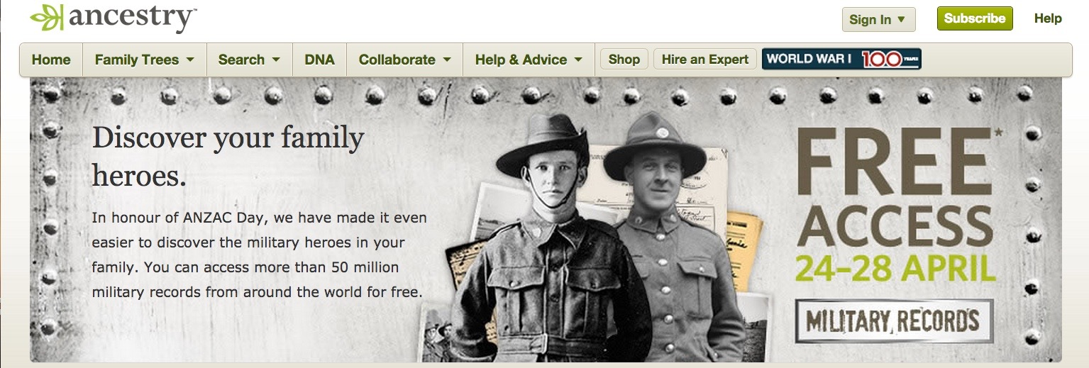 """""""Discover your family heroes"""""""