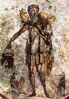 Jesus Catacombs of Rome 3rd Cent