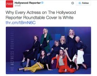 """every woman is white"" tweet about magazine cover"