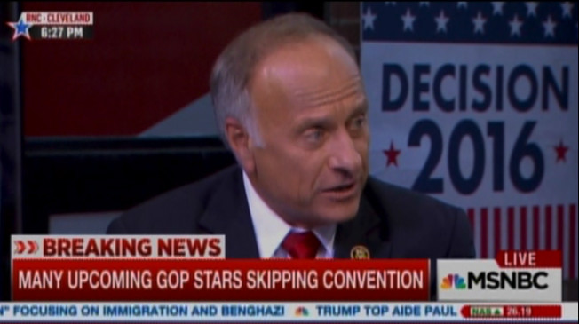 Steve King on white people