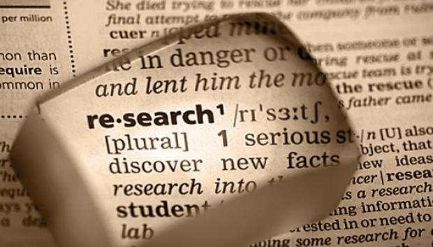Research in the Dictionary