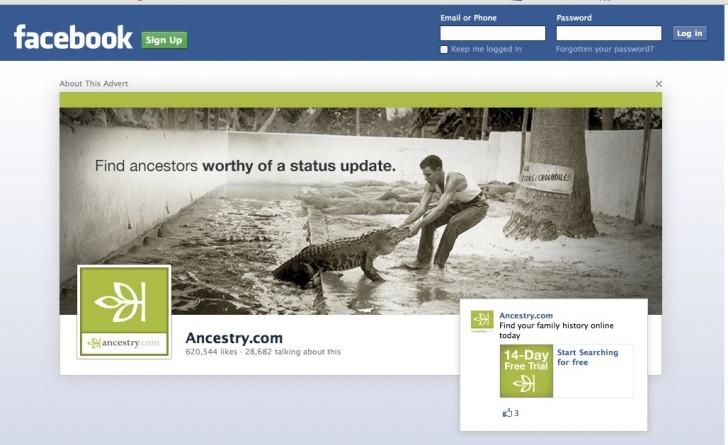 Find Status-Update-Worthy Ancestors