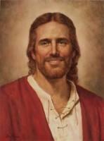 Jesus Portriat Smiling